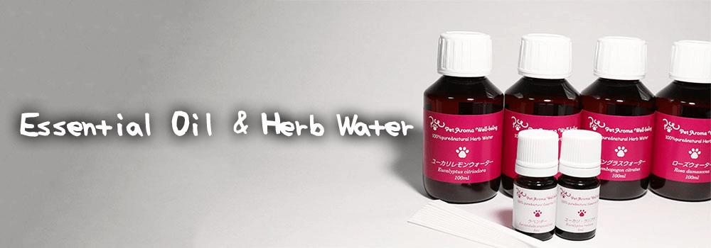 Essential Oil & Herb Water